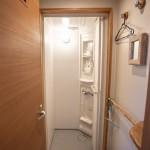 本館のシャワールーム