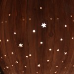 星柄のテラス